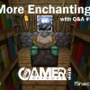 Minecraft Me #35: More Enchanting with Q&A #5