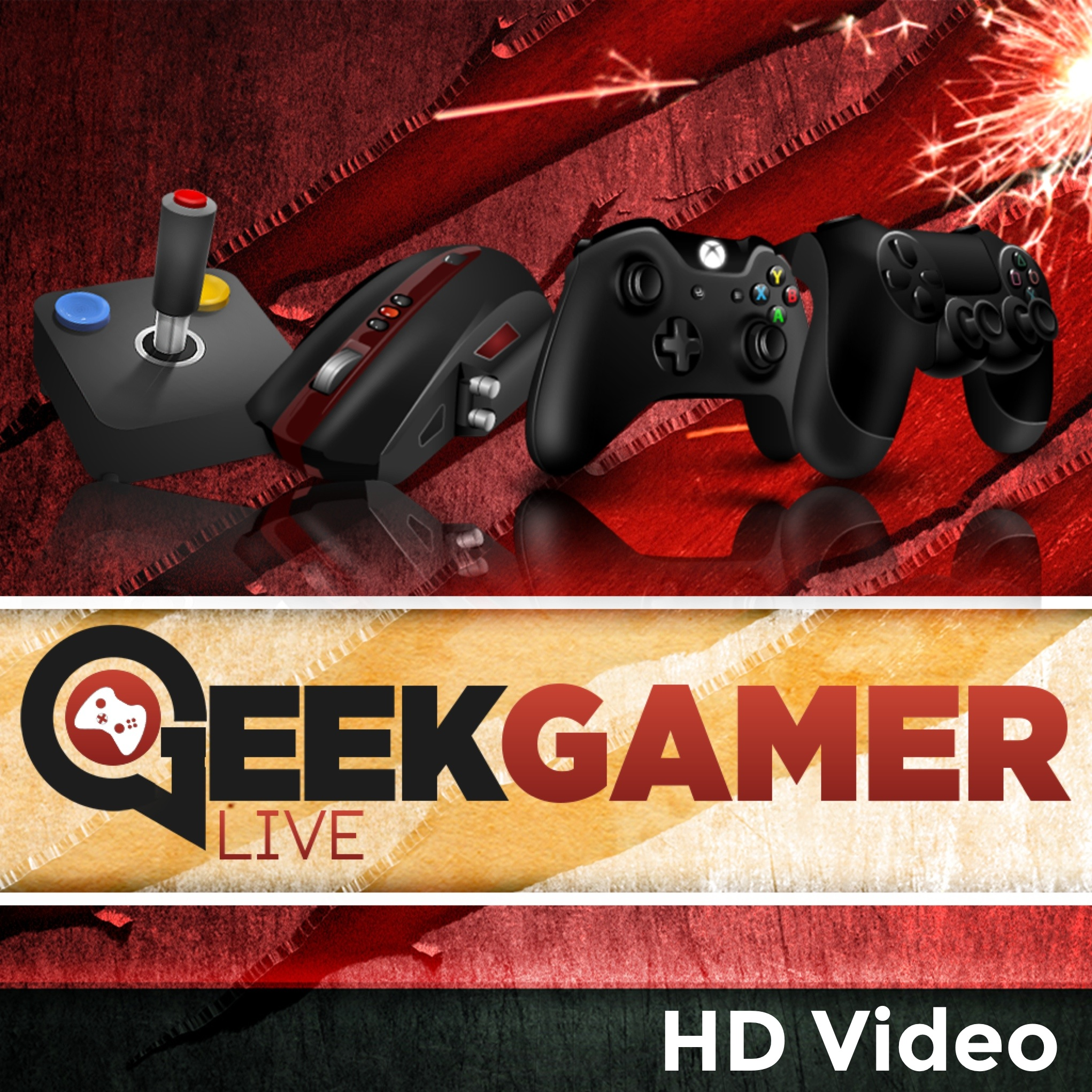 Geek Gamer Live - HD Video